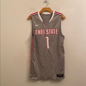 Nike Ohio State small gray jersey